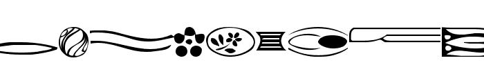 GriffDinReg Font LOWERCASE