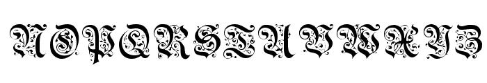 Griffin Regular Font UPPERCASE