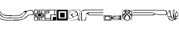 Griffin Regular Font LOWERCASE