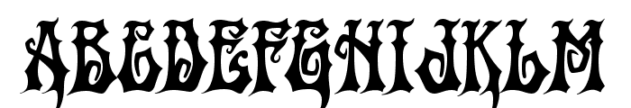 Griffin Font UPPERCASE