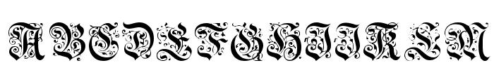 GriffinDingbats Medium Font UPPERCASE