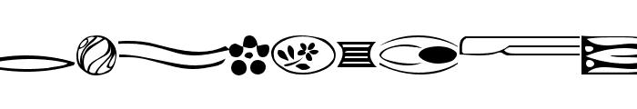 GriffinDingbats Medium Font LOWERCASE