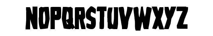 Grim Ghost Bold Font UPPERCASE