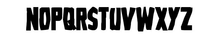 Grim Ghost Bold Font LOWERCASE