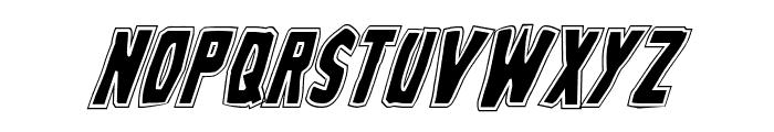 Grim Ghost College Italic Font LOWERCASE