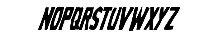 Grim Ghost Condensed Italic Font LOWERCASE