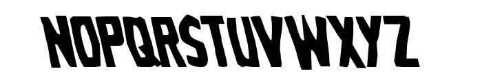 Grim Ghost Leftalic Font LOWERCASE