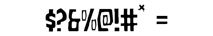Grim Ghost Light Font OTHER CHARS