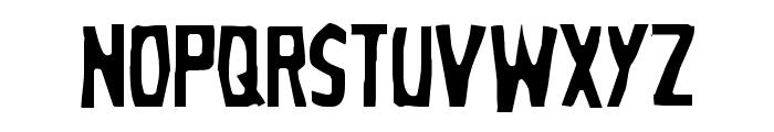 Grim Ghost Light Font UPPERCASE