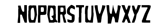 Grim Ghost Light Font LOWERCASE