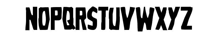 Grim Ghost Regular Font UPPERCASE