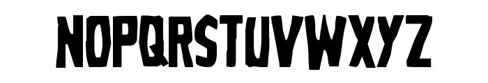 Grim Ghost Regular Font LOWERCASE