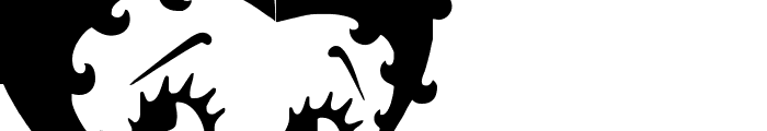 Grim Natwick Betty Boop Font LOWERCASE