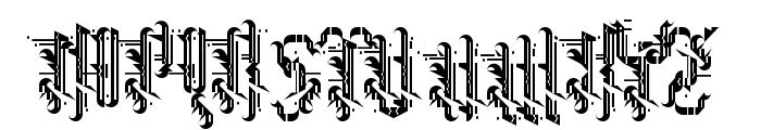 Grimeplex Regular Font UPPERCASE