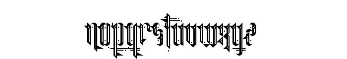 Grimeplex Regular Font LOWERCASE