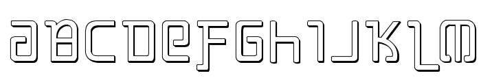Grimlord Shadow Font LOWERCASE