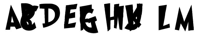 Grinched Regular Font UPPERCASE