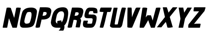 Grind Zero Bold Italic Font UPPERCASE