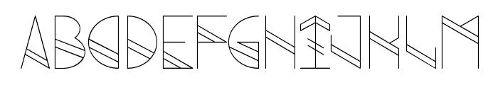 Grind Font UPPERCASE