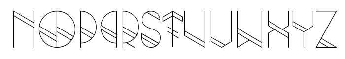 Grind Font LOWERCASE