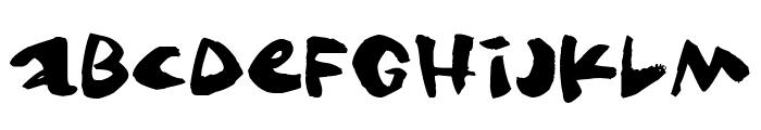 Gringo Font LOWERCASE