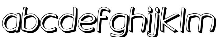 Gringotts Golden Font LOWERCASE