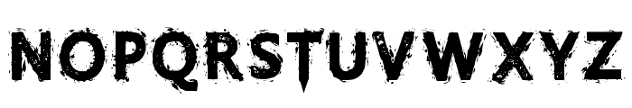 GristledFont-Regular Font LOWERCASE