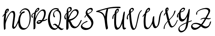 Gritten Font UPPERCASE