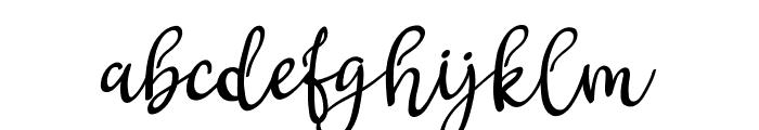 Gritten Font LOWERCASE
