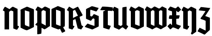 GrobeDeutschmeister Font UPPERCASE