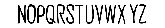 Groov G. SemiBold Font UPPERCASE