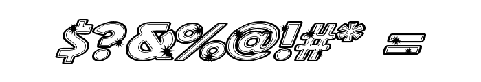 Groovalicious Tweak Font OTHER CHARS