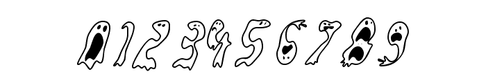 GroovyGhosties Font OTHER CHARS