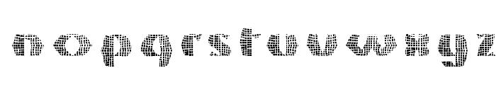 GrossNet Font LOWERCASE