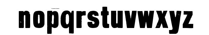GrotRough Font LOWERCASE