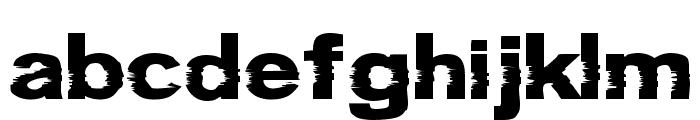 Groteski Bold Font LOWERCASE