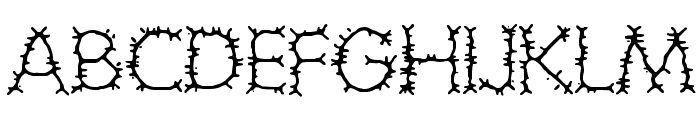 Grotesque BRK Font UPPERCASE
