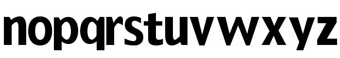 GrotesqueBoldTallX Font LOWERCASE