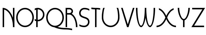 Grouser Font LOWERCASE
