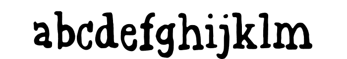 Grovflab DEMO Regular Font LOWERCASE