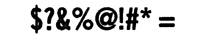 Growly Grin Font OTHER CHARS