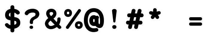 Grqalir-Bold Font OTHER CHARS