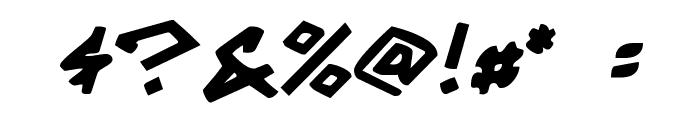 Grrrrrr Bold Font OTHER CHARS
