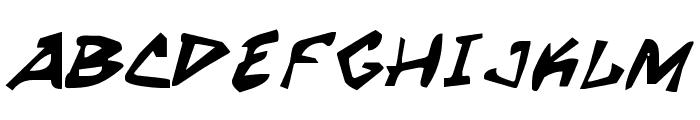 Grrrrrr Bold Font UPPERCASE