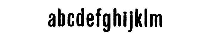 GruenLemonograf Font LOWERCASE