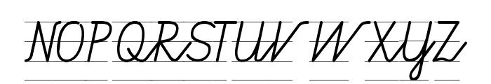 Gruenewald VA 1. Klasse Font UPPERCASE