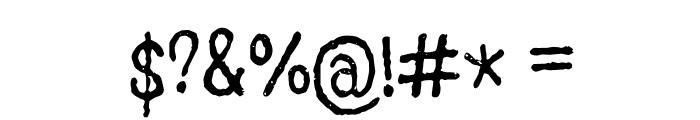 GrumbleOT Font OTHER CHARS