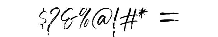 Grumpys Regular Font OTHER CHARS