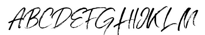 Grumpys Regular Font UPPERCASE