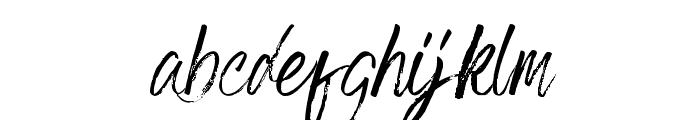 Grumpys Regular Font LOWERCASE